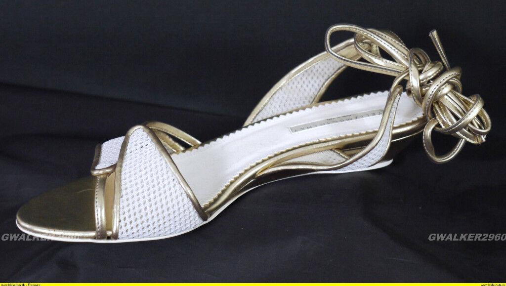 STELLA  McCARTNEY oro  BIANCO STA NUOVO  designer online