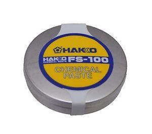 DéLicieux Hakko à Souder Astuce Chimique Pâte Fs100-01 Made In Japan-afficher Le Titre D'origine Promouvoir La Production De Fluide Corporel Et De Salive