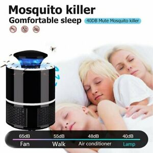 Electronic Mosquito Repellent Lampe Outdoor Fly Bug Insect Tueur Pest Catcher-afficher Le Titre D'origine