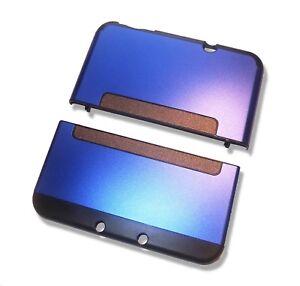 Nintendo-NEW-3DS-XL-3DSXL-Blue-Aluminium-Metal-Case-Cover-Shell-Housing
