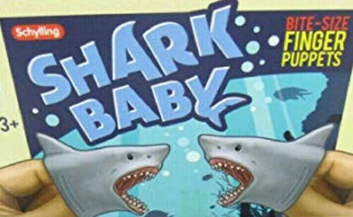 Schylling requin bébé Marionnette À Doigts-SC-sbfp extensible Play Toy semblant sea fish