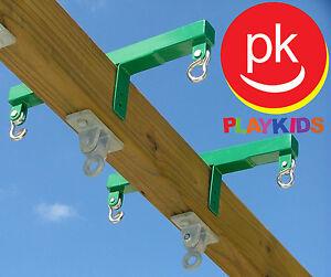 Swing Set Metal Glider Horse Blocks For Playset Jungle Gym Backyard
