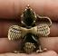1-6-034-Collect-Nepal-Tibetan-Buddhism-Bronze-Garuda-Dhwaja-Buddha-Amulet-Pendant thumbnail 7