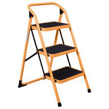 Protable 3 Step Ladder Folding Non Slip Safety Tread Heavy Duty 330lbs Capacity