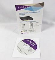 Netgear Prosafe Plus Gs108ev3 Resource Cd