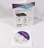 Netgear Prosafe Plus Gs108ev3 Resource Cd
