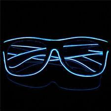 LED Light Up Sunglasses Shades Flashing Blink Glow Glasses Party Rave Nightclub