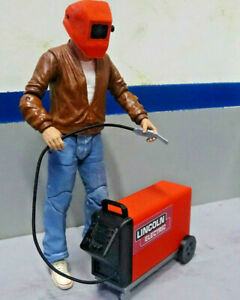 Welder-1-10-Scale-Shop-Garage-Rock-Crawler-Doll-House-Accessories-USA
