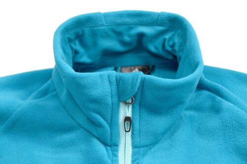 Details zu Adidas HT FLEECE JACKET Damen Fleece Jacke Outdoor Wanderjacke türkis blau S M L