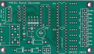 Automatic-9-outputs-band-decoder-YAESU-Microham-MK2R-Elecraft-K3-leiterplatte