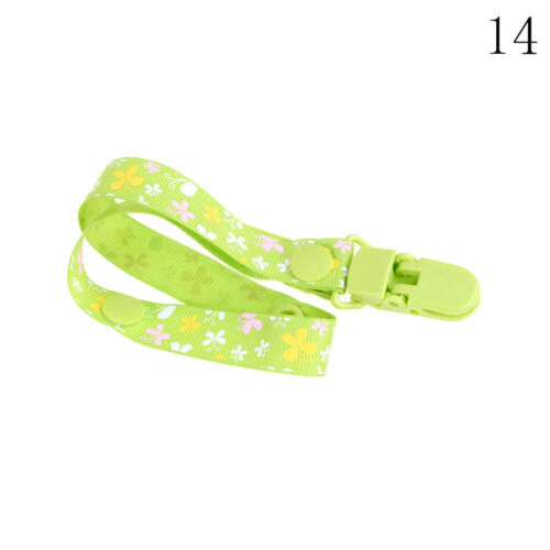 UK Baby Anti-lost Hot Clip Holder Dummy Pacifier Soother Nipple Strap Chain