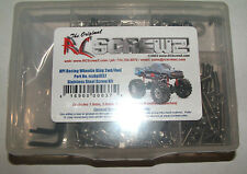 HPI RACING WHEELIE KING 2WD/4WD RC SCREWZ SCREW SET STAINLESS STEEL HPI037