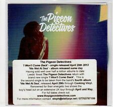(EC68) The Pigeon Detectives, I Won't Come Back - 2013 DJ CD