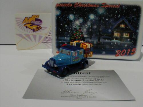 Schuco Piccolo 01614 # Hanomag ST 100 Christmas Special Weihnachtsmodell 2015