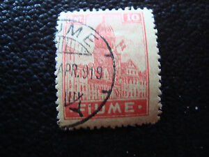 Fiume-Italy-Stamp-Yvert-and-Tellier-N-35-Obl-A16-Stamp-Italy