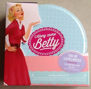 Along Came Betty Tin Of Loveliness Gift Set  Brand New in Sealed Packaging - <span itemprop=availableAtOrFrom>Rotherham, South Yorkshire, United Kingdom</span> - Along Came Betty Tin Of Loveliness Gift Set  Brand New in Sealed Packaging - Rotherham, South Yorkshire, United Kingdom