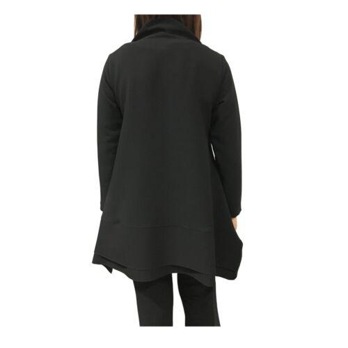 Tai192094 In Made Mod Tasche Con Tadashi Nero Asimmetrica Donna Blusa Italy UwTAO0