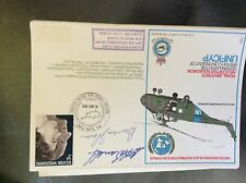 a2m r a f stamp frank cover 1973 unficyp united nations signed barrell pearce