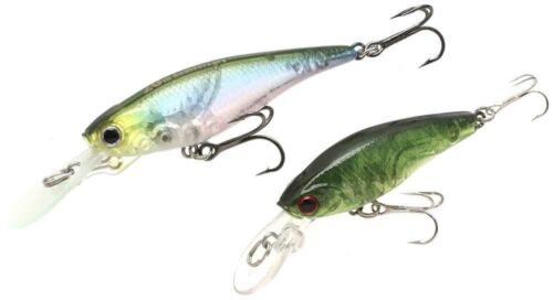 -Moss Green LUCKY CRAFT JAPAN NW-Amigo 07 2 Lures Bevy Shad 45SP