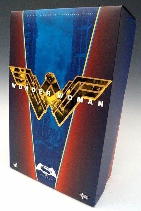 DC BVS Gal Gadot as Wonder Woman Action Figure 1 6 Hot Toys Sideshow MMS359 RARE