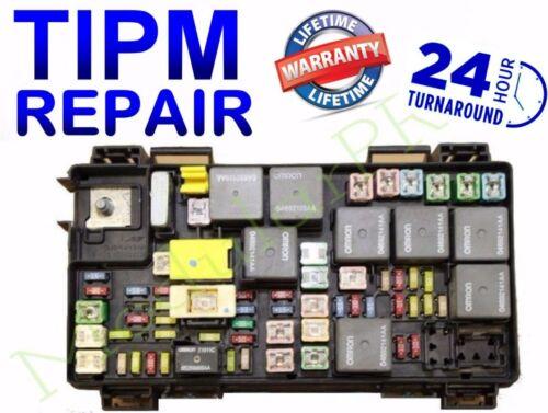 Fuel Pump Relay 2011-2012  Dodge RAM 1500 TIPM Repair//Replacement Service