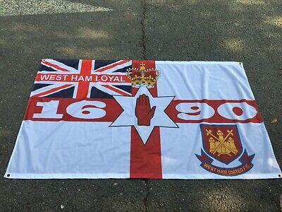 CHELSEA LOYAL FOLLOW FOLLOW GLASGOW RANGERS 3 X 5FT  FLAG//BANNER