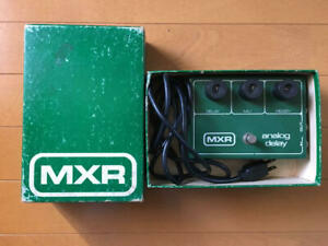 MXR-Analog-Delay-VINTAGE-Rare-Guitar-Effect-Pedal-Genuine-Free-Shipping-from-JP