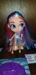 SHIMMER-RAYNE-HAIRDORABLES-SERIES-3-Doll-De-Boxed-RARE-HTF-Dance-Party-Rainbow