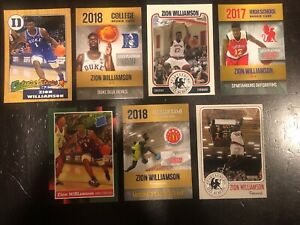 Zion-Williamson-7-Different-Card-Rookie-Spartanburg-High-All-American-Duke