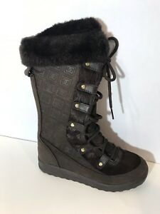 DC-SHOES-WINDHAM-WOMENS-Brown-THINSULATE-BOOTS-Size-7-NEVER-WORN-OUT