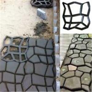 Garden-Path-Paving-Pavement-Mould-Concrete-Stepping-Cement-Brick-Mold-Reusable