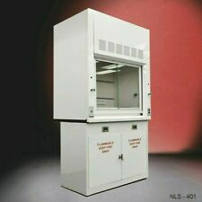 4 Fisher American Laboratory Bench Fume Hood With Flammable Storage E1 389