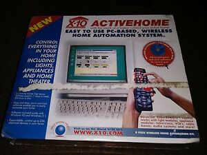 New Active Home 6 Piece Wireless Whole House Automation X-10® 1997 Freeshipping
