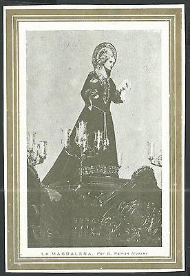 Adaptable Lamina Antigua Semana Santa De Zamora Andachtsbild Santino Holy Card Santini Vivo Y Grande En Estilo