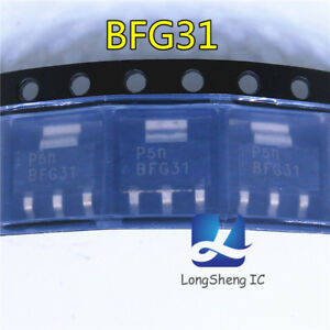 5-un-BFG31-TRANS-PNP-10-V-5GHZ-SOT223-Nuevo