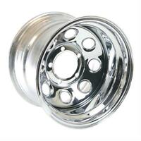 Cragar Wheel Soft 8 Chrome Steel 15x10 5x5.5 Bolt Circle