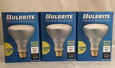 6 Bulbs New 6 Pack 100w Ceramic Blue light bulb 130 V Bulbrite