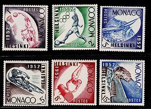 MONACO SCOTT# 295-300, C36-C39 MNH OLYMPIC TOPICAL