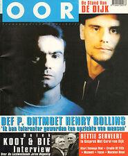 MAGAZINE OOR 1997 nr. 06 - HENRY ROLLINS/VAN KOOTEN & DE BIE/DE DIJK
