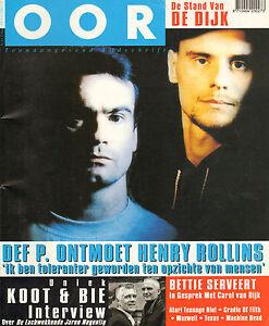 MAGAZINE OOR 1997 nr. 06 - HENRY ROLLINS / VAN KOOTEN & DE BIE / MACHINE HEAD