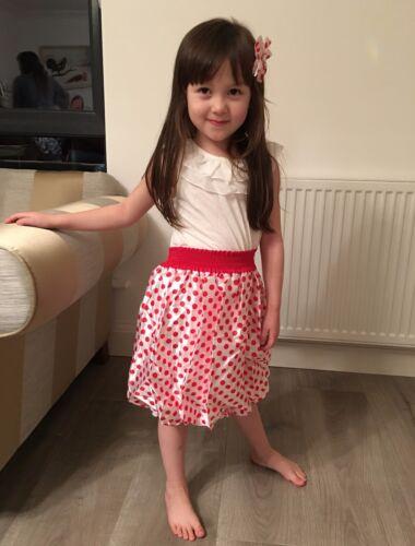 New beautiful kids dot dresses for girls 2-7Yrs