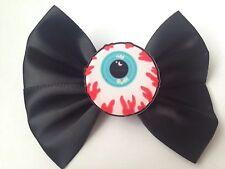 Pastel Goth Eyeball Hair Bow Eye Ball Creepy Cute Gothic Halloween
