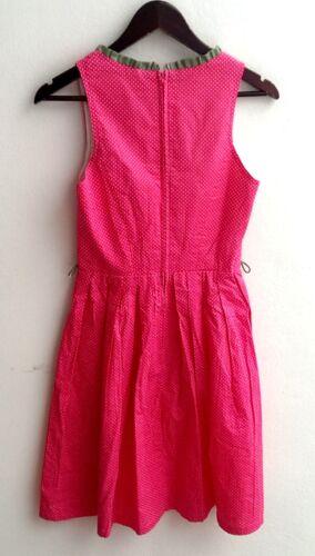 Pünktchen Gr 34 Damen Trachten Dirndl ärmellos pink m Outfit 38 v