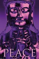 Buddha - Peace Single 24x36 Poster Tranquility Love Inspirational Brand Nice
