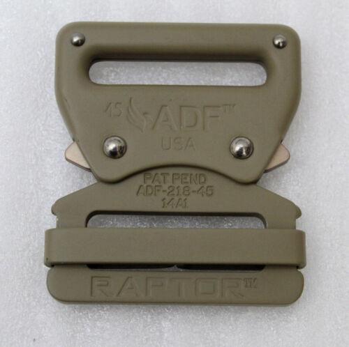 Fusion Raptor ad-218-45-cyb-50p Aluminium attache rapide boucle de ceinture marron