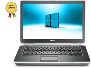 8GB  LAPTOP DELL E6430 CORE i7  2,900 GHz 14,1 320GB  WEBCAM WIFI  WIN10