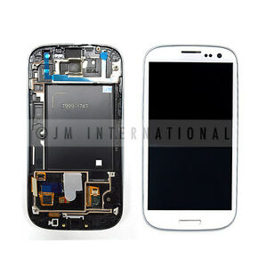 White-Samsung-Galaxy-S3-i747-T999-LCD-amp-Touch-Screen-w-Frame-Assembly