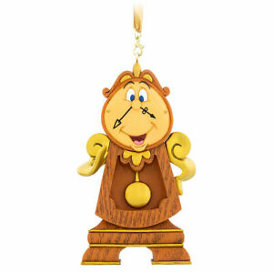 Authentic Disney Cogsworth Clock Ornament Beauty Beast Collectible Memorabilia Ebay