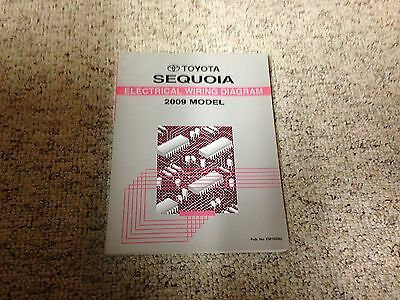 2009 Toyota Sequoia Electrical Wiring Diagram Manual SR5 ...