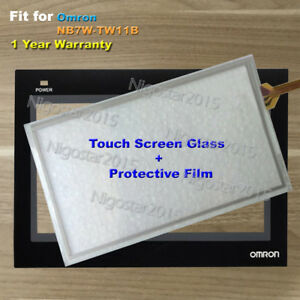 NT21ST121BE Touch Screen Glass 1 Year Warranty for Omron NT21-ST121B-E